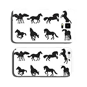 Horse - Silhouette cell phone cover case iPhone6 Plus