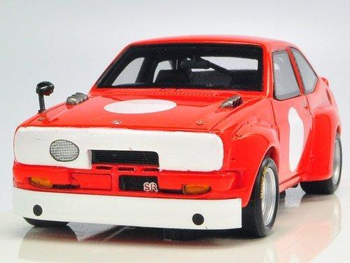 1/43 トヨタ スターレット 1973 富士スピードウェイテスト(TS仕様) R70233の商品画像
