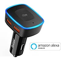 Roav VIVA Alexa Enabled 2-Port USB Car Charger (Black)