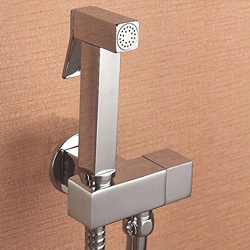 All copper Gun Packages/Bidet Kit/Toilet gun/Women washing/Pets handheld shower spray gun-A by Bidet Faucets
