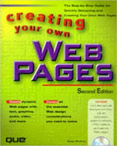 Ilmainen eBook-tiedostojen lataus Creating Your Own Web Pages PDF by Andrew Bryce Shafran