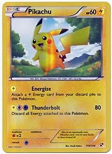Pokemon Black & White Single Card Pikachu #115 Secret Rare