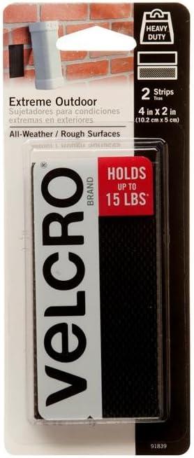 10 pcs VELCRO Brand Industrial Heavy Duty Strength Extreme Outdoor Indoor Strips