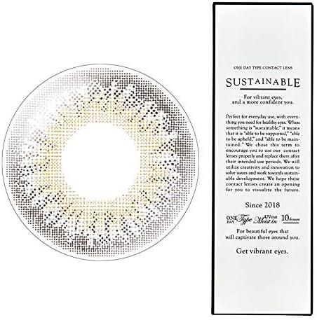 サステイナブルワンデー 107-BR(グレージュブラウン) -1.75 1箱10枚入 1day greige brown