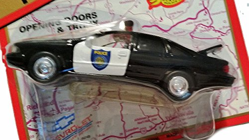 1/43 Road Champs 1997 Chevy Caprice Police car