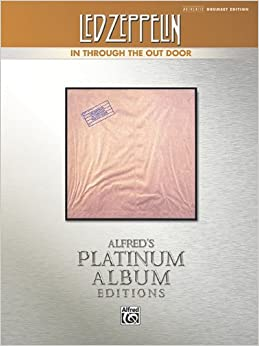 Book Led Zeppelin -- In Through the Out Door Platinum Drums: Drum Transcriptions (Alfred's Platinum Album Editions) [2010] (Author) Alfred Publishing Staff