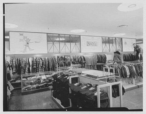 Photo: Gimbel Brothers,business in Cross County Center,Yonkers,New York. - County New York Cross