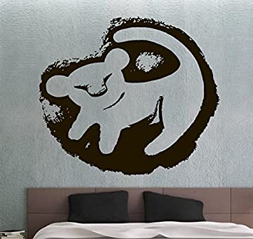 The Lion King Wall Sticker Wall Vinyl Decal Movie Sticker Home Decoration  Home Interior Living Room Images