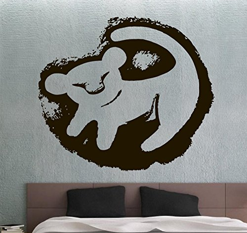 The Lion King Wall Sticker Wall Vinyl Decal Movie Sticker Home Decoration Home Interior Living Room Decor Wall Art 13yhn by Amanda Brown