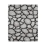 "Pacon PAC56485 Fadeless Design Roll, 48"" x 50', Rock Wall"
