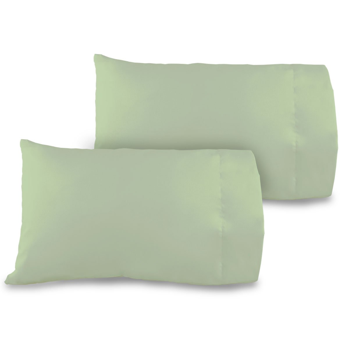 Allyson Brooke Home 2 pack 12x18 Pillowcase 100% cotton Perfect for MyPillow Go Anywhere Pillow Travel size, Toddler size Pillowcase 12x18 Color Sage