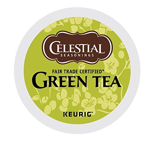 Celestial Seasonings Green Tea K-Cups, Authentic,