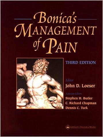 Bonica Management Of Pain Pdf