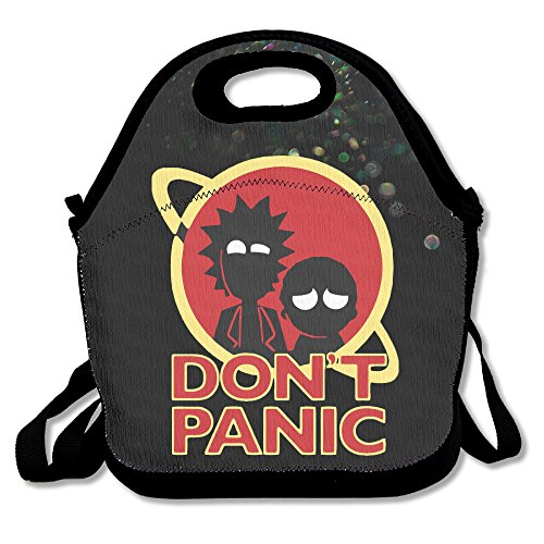 Bekey Rick And Morty Brother Lunch Tote Bag Lunch Box For Women Adults Kids Girls For Travel School Picnic Grocery Bags