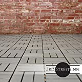 Deck Tiles - Patio Pavers - Acacia Wood Outdoor