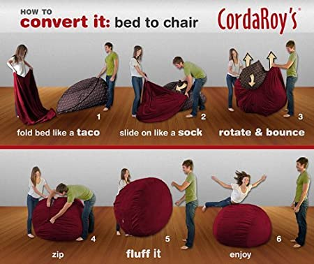 Amazon.com: cordaroy S – Pana – Puf (– Reina Sleeper ...