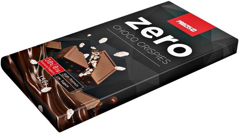 Prozis Zero Choco Crispies - Proteína de Chocolate 150 g Crujiente de chocolate Aperitivo Rico En Proteínas Que Te Ayuda A Estar En Forma - Ideal Para ...