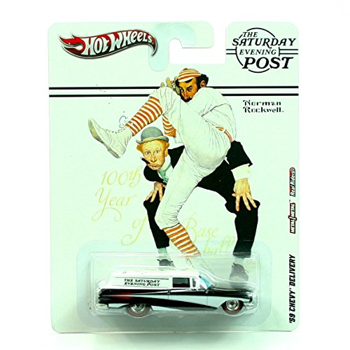 59% Post ('59 CHEVY DELIVERY THE SATURDAY EVENING POST / NORMAN ROCKWELL Hot Wheels 2011 Nostalgia Series 1:64 Scale Die-Cast Vehicle)