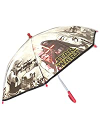 Umbrella child 'Star Wars'black white - 42 cm (16.54'') , diameter 76 cm (29.92'').