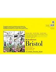 "Strathmore (342-17) STR-342-17 24 Sheet Smooth Bristol Pad, 11 by 17"", White"