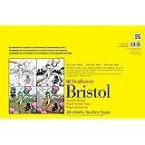 "Strathmore (342-117 STR-342-117 24 Sheet Vellum Bristol Pad, 11 by 17"""