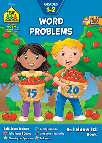 Word Problems Grades 1-2: An I Know It! Book