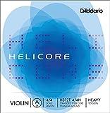 D'Addario Helicore Titanium-Wound Violin A String, 4/4 Scale, Heavy Tension
