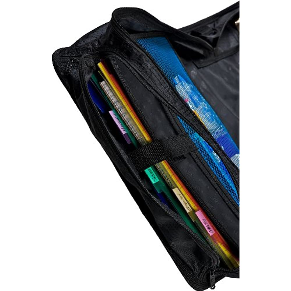 Case-it King Sized Zip Tab 4-Inch D-Ring Zipper Binder 5