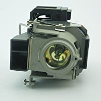 For NP09LP Compatible projector lamp with housing Fit for NEC NP60/ NP61/ NP62/ NP63/ NP64 projector by Mogobe
