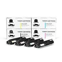 1 Set of 4 Moustache ® Brother TN336 TN-336 TN336 (High Yield of TN331 TN331 TN-331) BK/C/M/Y Premium Quality Black Cyan Magenta Yellow TN336BK TN336C TN336M TN336Y TN331BK TN331C TN331M TN331Y New Compatible Toner Cartridge for Brother HL-L8250CDN HL-L8350CDW HL-L8350CDWT MFC-L8600CDW MFC-L8850CDW (4 Combo)