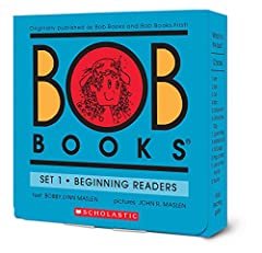Teach a child letter sounds with Bob Books Set 1! With four letters in the first story, children can read a whole book. Consistent new sounds are added gradually, until young readers have read books with all letters of the alphabet (except Q)...