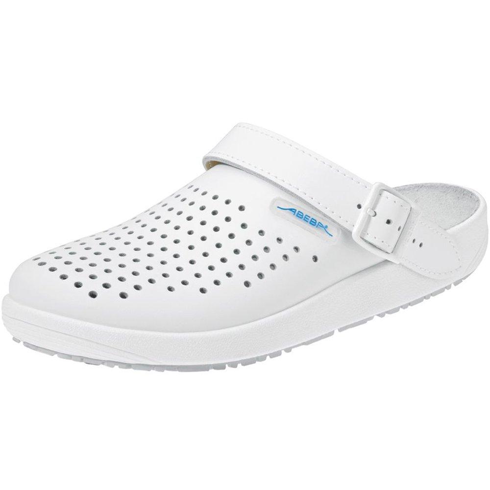 Abeba 9300 –  36 Rubber Schuhe Blitzschuh, Weiß , 9300-36