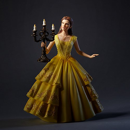 Disney Resin Figurine - Enesco Disney Showcase Cinematic Moments Beauty and the Beast Live Action Belle Stone Resin Figurine