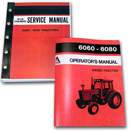 Allis Chalmers 6060 6080 Tractor Service Operator Manuals Technical Shop Repair