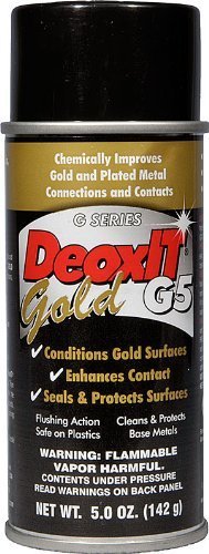 DeoxIT® Gold, G5 Spray  5% Contact Conditioner  - G5S-6