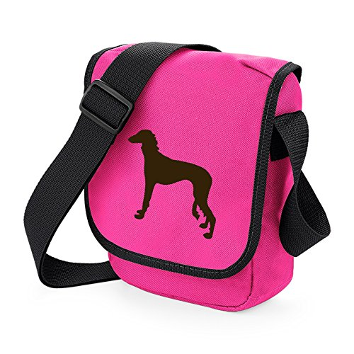 Saluki Desert Shoulder Saluki Choice Pink Dog Dog Reporter Saluki Sighthound Silhouette Bag Brown Bag Gift Bag Bag Dog Colours of wUvYnqI8