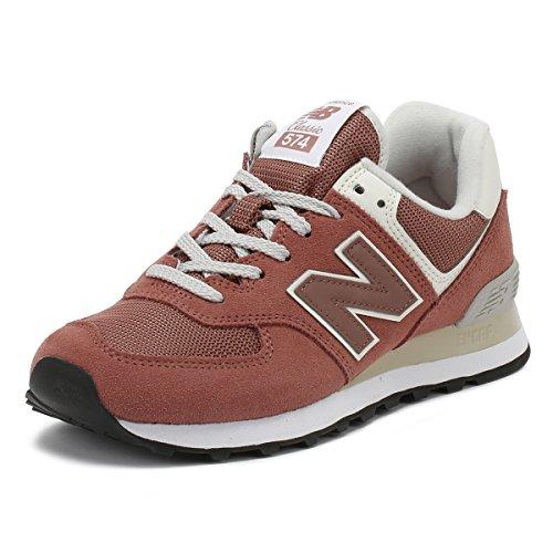 New Balance Damen 574v2 Sneaker Orange (Dark Oxide/Dark Oxide Croc)