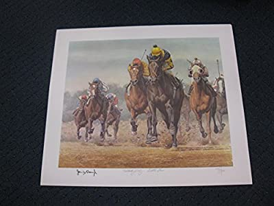Kentucky Derby - Seattle Slew By Fred Stone