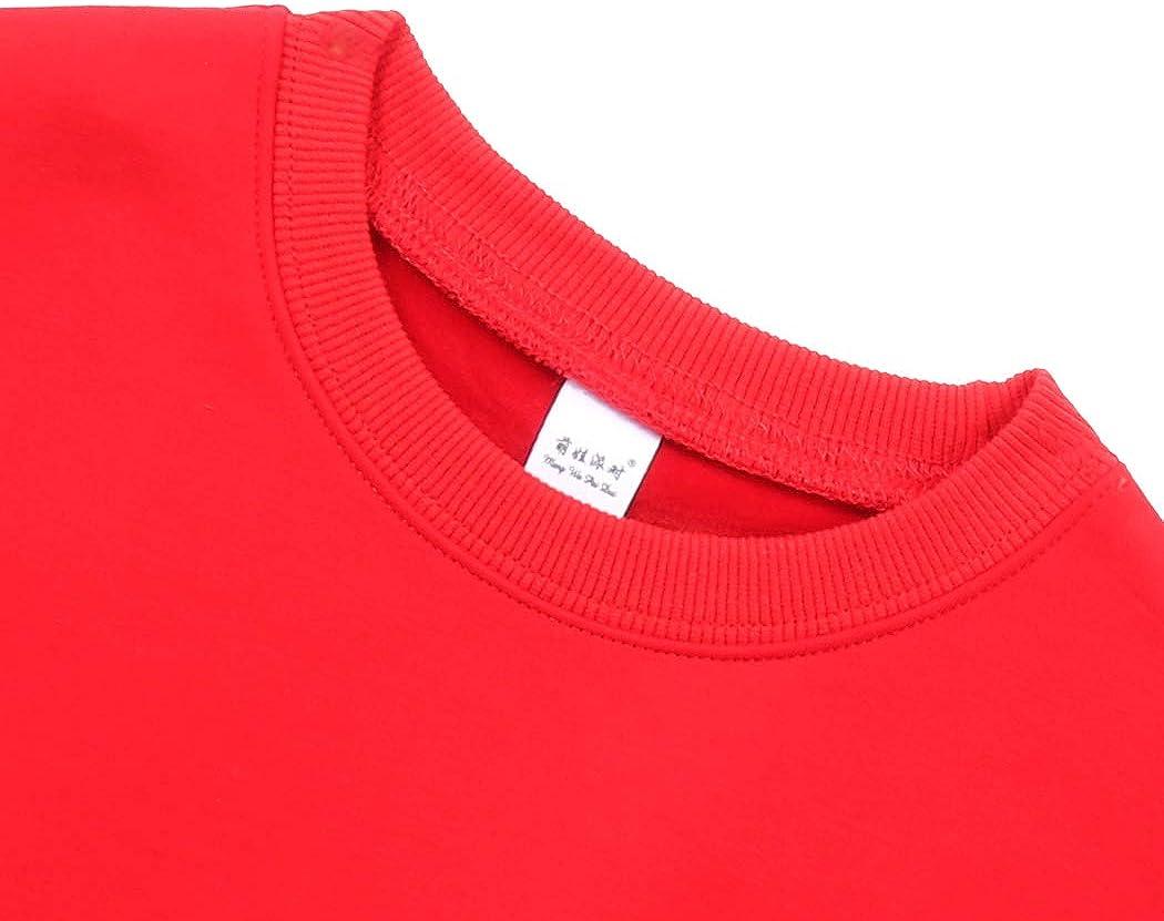 XWDA Baby Girls Boys Long Sleeve Cartoon Print Cotton Soft Pullover T-Shirt Tops 1-5Y