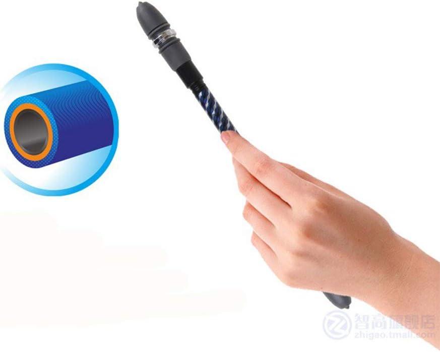 Xuebai Stylo /à Bille de Rotation Enduit antid/érapant Doigt Roulant Rotatif Jouant Stylo /à Bille /étudiant