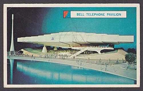 Pavilion System (System Exhibit Bell Telephone Pavilion 1964 New York World's Fair souvenir card)