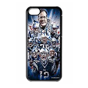 Unique Phone Case Pattern 15New England Patriots Tom Brady #12 - For Iphone 5c