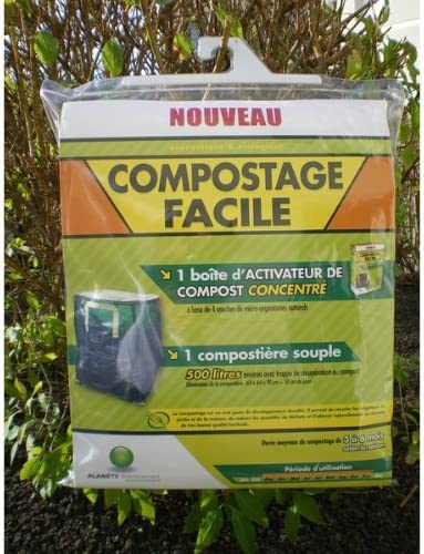 Kit-Compostador flexible de 500 litros: Amazon.es: Hogar