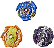 BEYBLADE Burst Rise Hypersphere Battle Guardians 3-Pack  -- Solar Sphinx S5, Gargoyle G5, Sword Valtryek V5 Ba