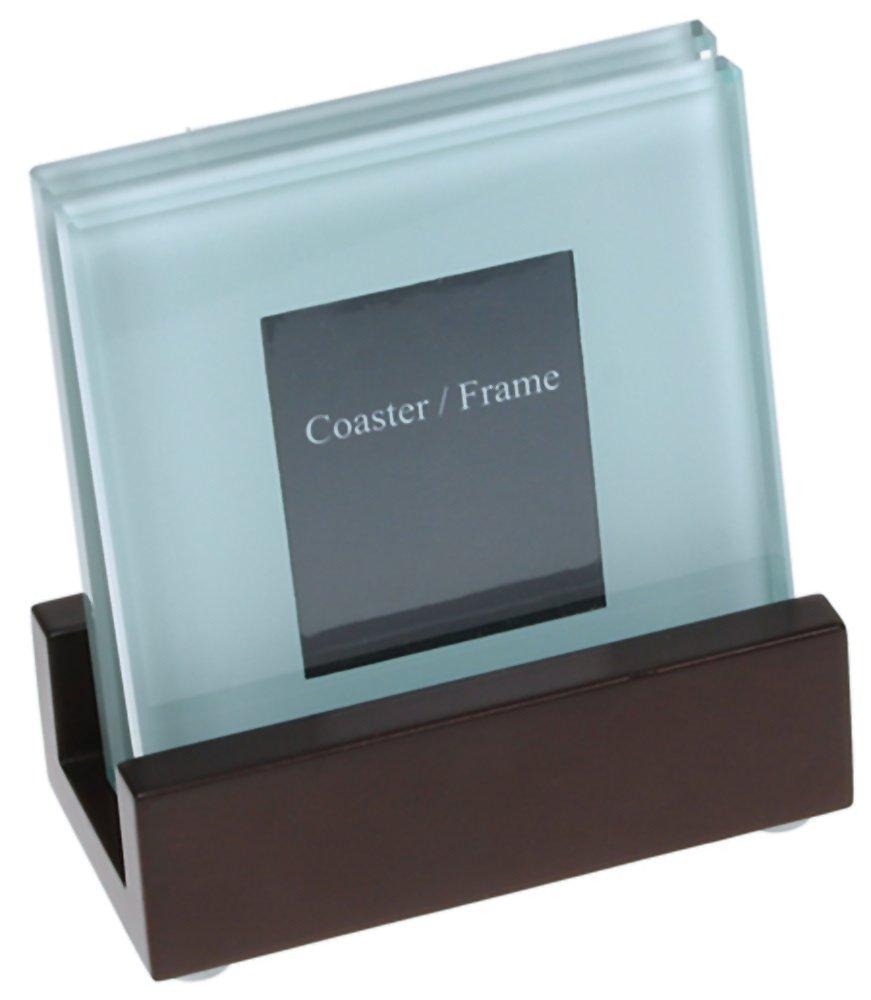 Amazoncom 4 Frame Photo Glass Coaster Set Of 4 Item 33221