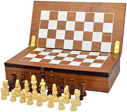 [해외]체스 아모리 체스 세트 박스 컴팩트 접이식 체스 세트 / Chess Armory Chess Set Box Compact Collapsible Folding Chess Set