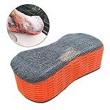 4pc Car Vehicle Washing Sponge Bone Design Brush Sponge Pad Cleaning Tool