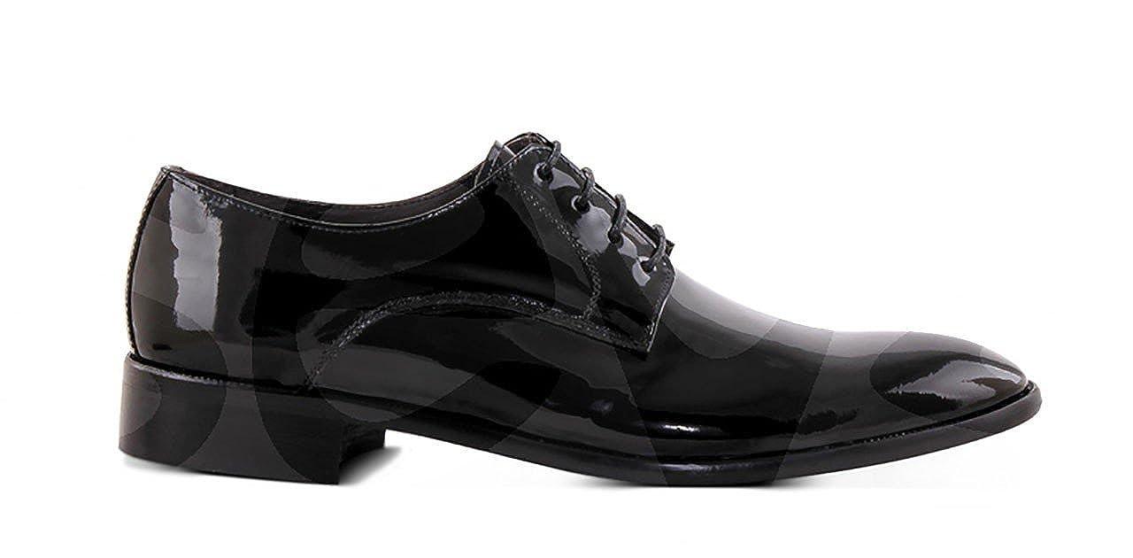Conception Marttely - 9970ch - Chaussures En Cuir Chevalier - 40, Noir