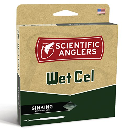 Scientific Anglers Wetcel Type II General Purpose Sinking Lines, Brown, WF- 6-S