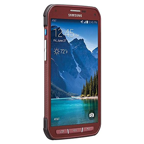 Samsung Galaxy S5 Active G870a 16GB Unlocked GSM Extremely Durable Smartphone w/ 16MP Camera - Ruby